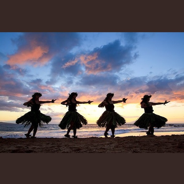 ハワイアンフラダンス